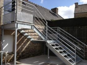 Ferronnerie Metallerie Tumelin Rocher Realisation Escaliers